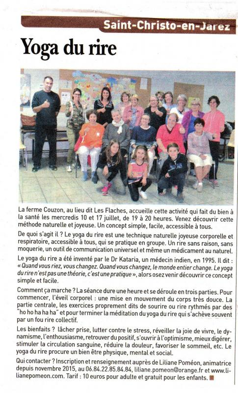 Article 2019 06 21 yoga rire saint christo